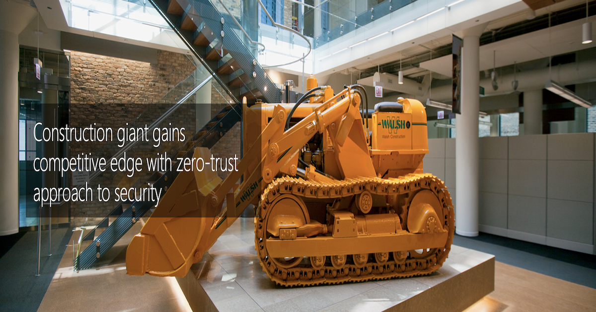 Construction Giant Gains Competitive Edge With Zero-trust Approach To Security